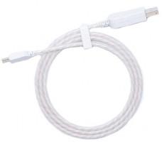 Кабель USB - Type C светящийся (белый)